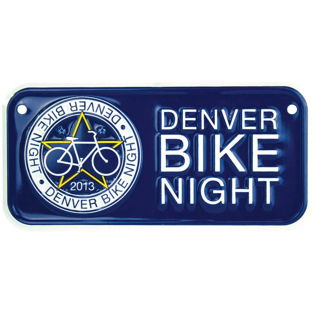 Custom Bicycle License Plates - 4
