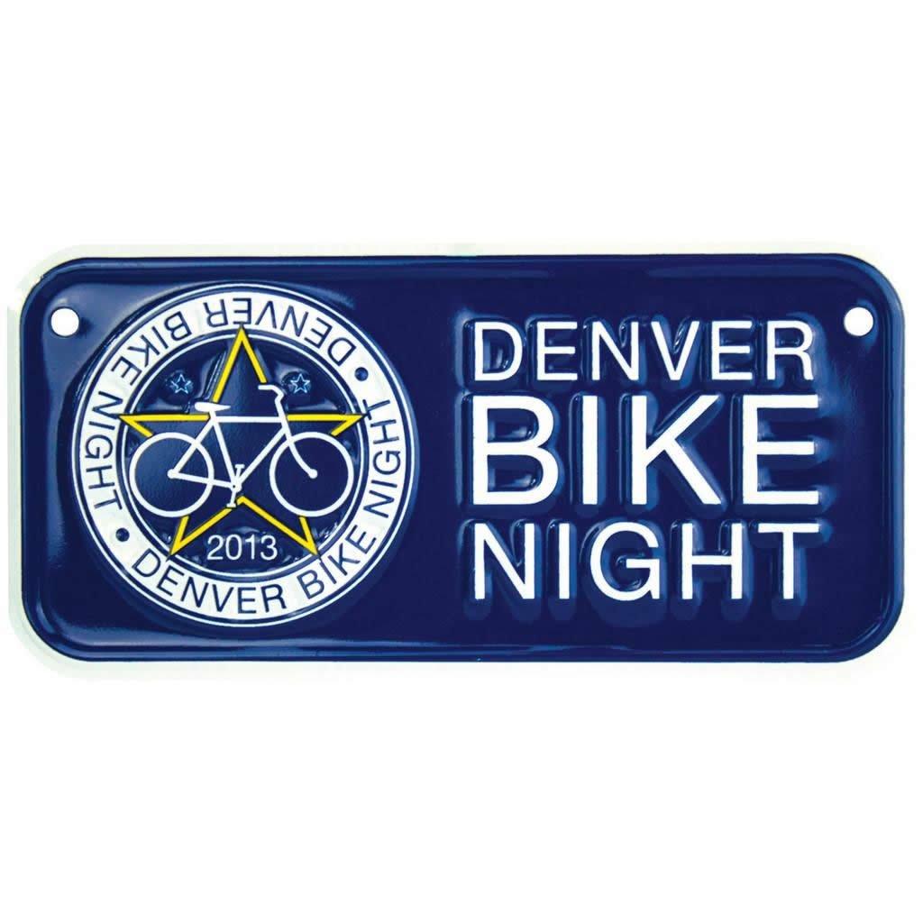 Custom Bicycle License Plates - 4