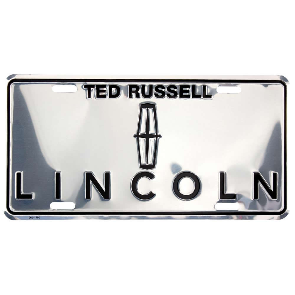 Custom Front License Plates Tags America