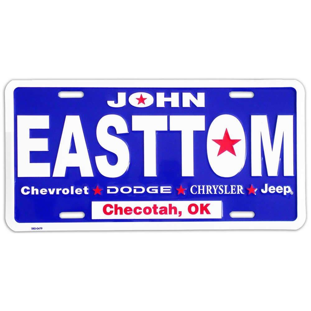 Custom papers online license plate