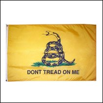 Don't Tread on Me 3x5 Polyester Flag