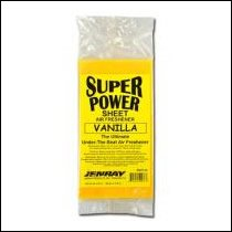 Vanilla Super Power Sheet Air Freshener