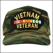 Vietnam Veteran Camo Cap