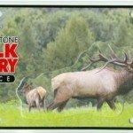 Custom License Plate - Keystone Alliance - Elk Country