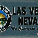 Custom License Plate - City of Las Vegas, NV