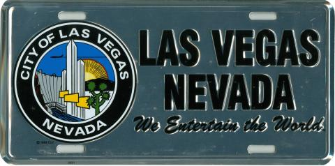 Custom License Plate - City of Las Vegas, NV